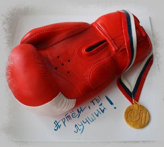 Торт в виде боксерской перчатки своими руками 43